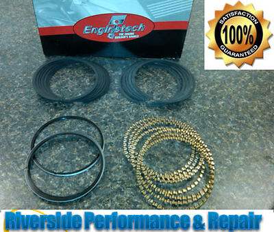 "1994-1996 Chev 265 4.3L V8 ""W"" Premium Piston Ring Set GM CAR Chevy Deep Oil"