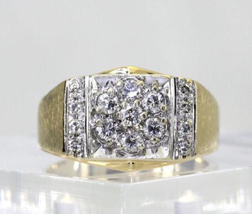 Ebay Cluster Diamond Rings