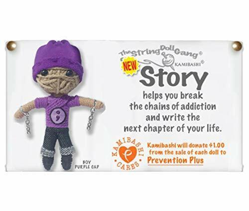 Kamibashi Story Boy Break Chain of Addiction Original Handmade String Doll Ga...