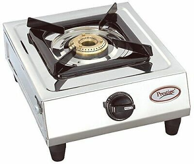 BEST QUALITY  Stainless Steel Single Burner LPG Gas Stove  FREE