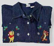 XL Disney Denim Shirt