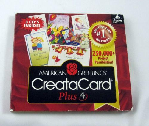Greeting Card Software Shop Collectibles Online Daily: American Greetings Creatacard: Software