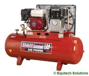 Sealey tools sa1565 petrol air compressor 150 litre 150l 6 for Honda air compressor motor parts