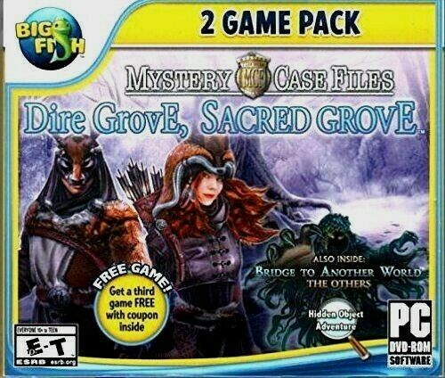 Mystery Case Files Dire Grove & Sacred Grove PC Games Windows 10 8 7 XP Computer