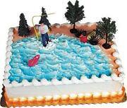Fisherman Cake Topper