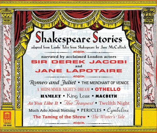 Derek Jacobi - Shakespeare Stories [new Cd]