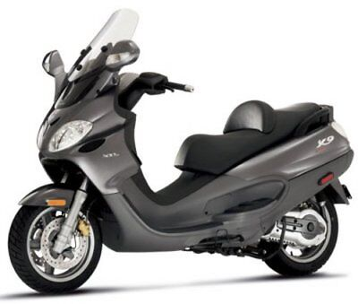 PIAGGIO X9 500CC WORKSHOP MANUAL INC SALES BROCHURE ON CD