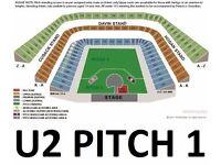 U2 Tickets x2 - 22nd July - Croke Park