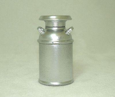 Dollhouse Mini Rustic Silver Color Milk Can 1 12 Miniatures For Doll House Farm