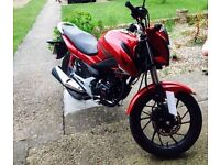 Honda CB125F in great condition..1 owner