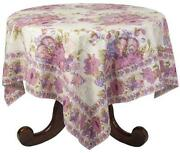 80 Round Tablecloth