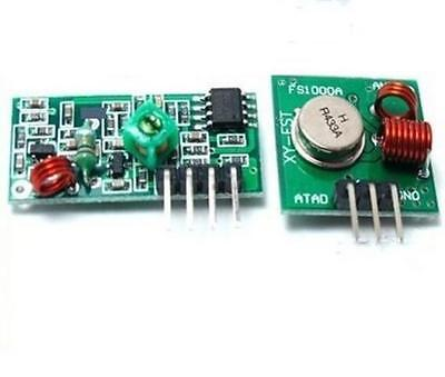 Dz71 433mhz Rf 1pcs Transmitter And 1pcs Receiver Kit For Arduino Project 1set