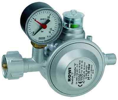 ROWI HGD 1/2 D Gasdruckregler für Innenräume, doppelte Absicherung