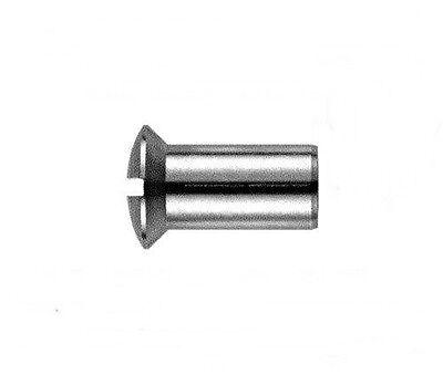 25 Stk. Hülsenmuttern 4 mm M4 x 12  Edelstahl ** Profi-Qualität **