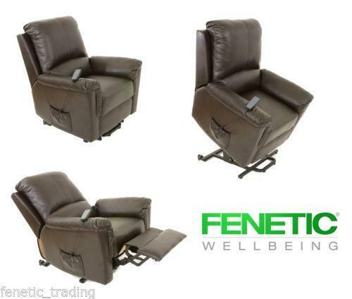 Leather Riser Recliner Chair Ebay