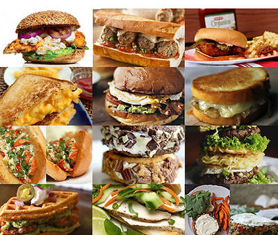 Over 300 Sandwich Recipes (eBook-PDF file)