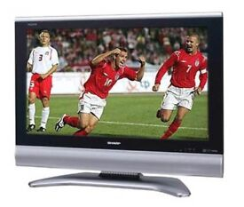 """Sharp AQUOS LC-32GD9E 32"""" HD LCD Television 2xHDMI Freeview"""