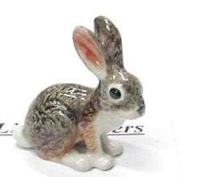little Critterz Porcelain Miniature Jack Rabbit - LC109