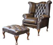 Leather Fireside Chair