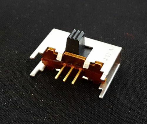 Slide Switch 0.4 VA 20V SPDT Right Angle PCB Alcoswitch MS-1200RG (10 pcs)