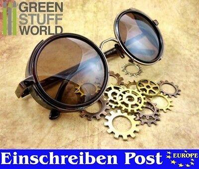 Retro Sonnenbrillen-Steampunk - KUPFER Metallrahmen Viktorianischen Stil