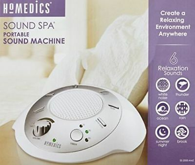 HoMedics SS-2000G-AMZ Sound Spa Relaxation Machine with 6 Nature Sounds Sleep