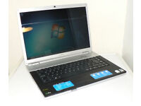 "SONY VGN-FZ LAPTOP 15.4"", 2x 2.00GHz, 3GB, 160GB, WIFI, HDMI, WEBCAM, BLUETOOTH, DVDRW, OFFICE, W7"