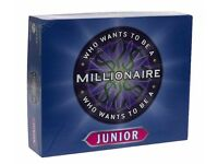 PRESSMAN WHO WANTS TO BE A MILLIONAIRE GAME Board Junior