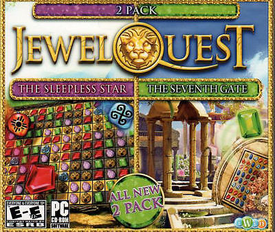 Jewel Quest Mysteries: The Seventh Gate (PC, 2011) Video Games