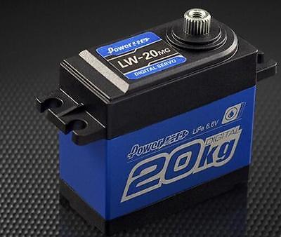 Power HD LW-20MG Waterproof Digital High Torque 20kg Servo Savox 1256