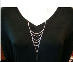 Silpada .925 Sterling Silver and Hematite Necklace