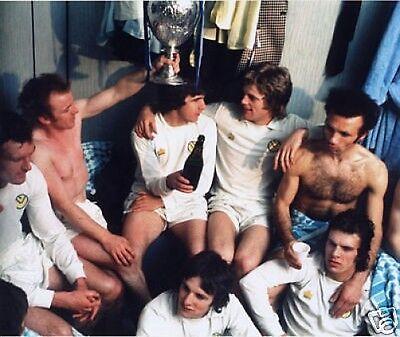 Leeds United Champions 1970's Awsome 10x8 Photo