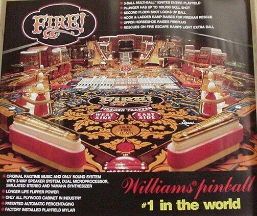 Fire Pinball Poster D