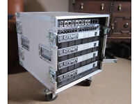 CROWN AUDIO amp rack £650