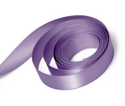 Thistle/Lilac/Mauve/Lavender - 10m Double Sided Satin Ribbon