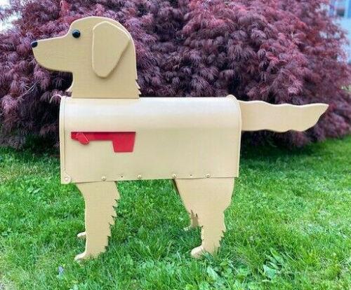 Golden Retriever Mailbox