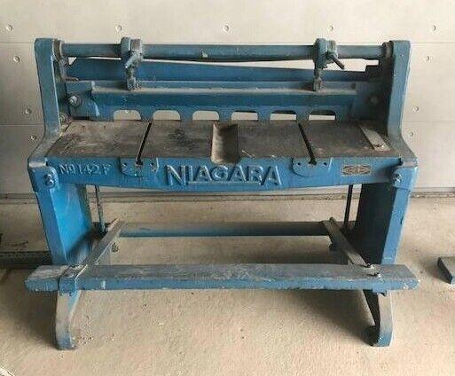 Niagara sheet metal shear