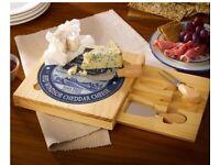 Occasional square cheese board