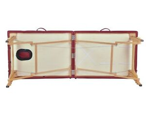 BestMassage Two Fold Burgundy Portable Massage Table-NEW-In Box London Ontario image 2