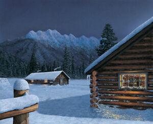 """""""Kootenay Post"""" by Glen Scrimshaw"""