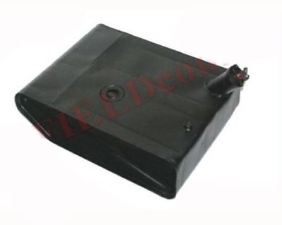 Black Steel Fuel Gas Tank With Lock Cap Willys 46-64 Cj -2a Cj-3b Ford Jeep S2u