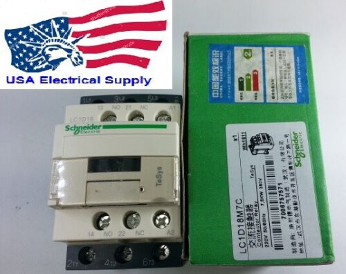 LC1D18M Magnetic Contactor Relay  18A  With Coil 220VAC 50/60Hz