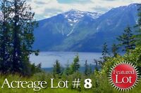 Scenic Lots for sale in Lake Front Resort /Marina/Mild Climate