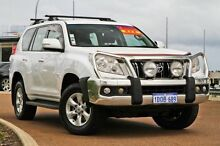 2010 Toyota Landcruiser Prado GRJ150R GXL White 5 Speed Sports Automatic Wagon East Rockingham Rockingham Area Preview