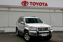 2007 Toyota Landcruiser Prado GRJ120R GXL Silver Metallic 5 Speed Automatic Wagon Upper Ferntree Gully Knox Area Preview