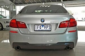 2011 BMW 535D Silver Sports Automatic Sedan Dandenong Greater Dandenong Preview