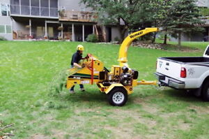Renting Large Chipper