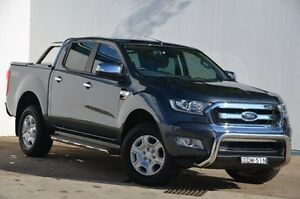 2015 Ford Ranger PX MkII XLT Double Cab Grey 6 Speed Sports Automatic Utility Blacktown Blacktown Area Preview