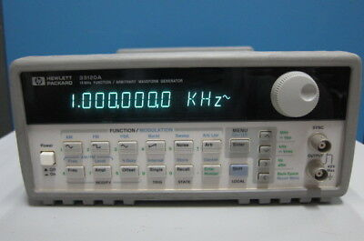 Hp 33120a 15mhz Functionarbitrary Waveform Generator