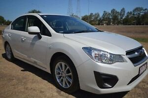 2014 Subaru Impreza G4 MY14 2.0i Lineartronic AWD White 6 Speed Constant Variable Sedan Vincent Townsville City Preview